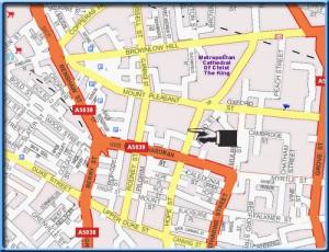 Hope street map